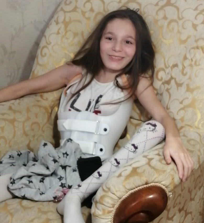 Оплатили черговий курс реабілітаційного масажу для Асії Песчаненко